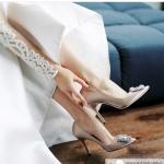 オシャレな花嫁はウェディングシューズから♡憧れのあの人気ブランドからプチプラまで!